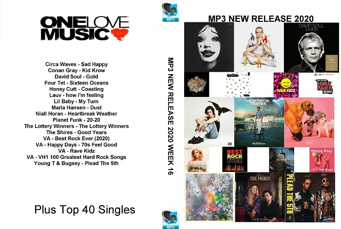 MP3 NEW RELEASES 2020 WEEK 16