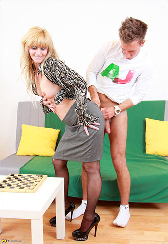 Radmira - Blonde Mature Slut Fucking Hard (2013) WEB-DLRip