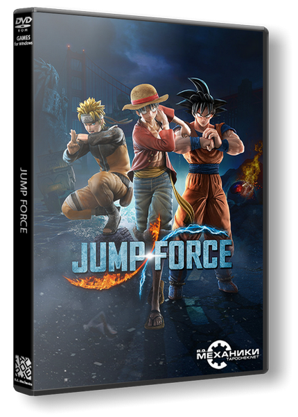 JUMP FORCE: Ultimate Edition (RUS|ENG|MULTi15) [RePack] от R.G. Механики