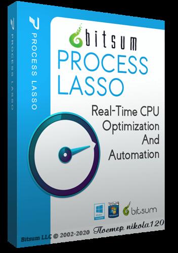 Process Lasso 9.8.0.54 RePack (& Portable) by TryRooM [2020,Ru/En]