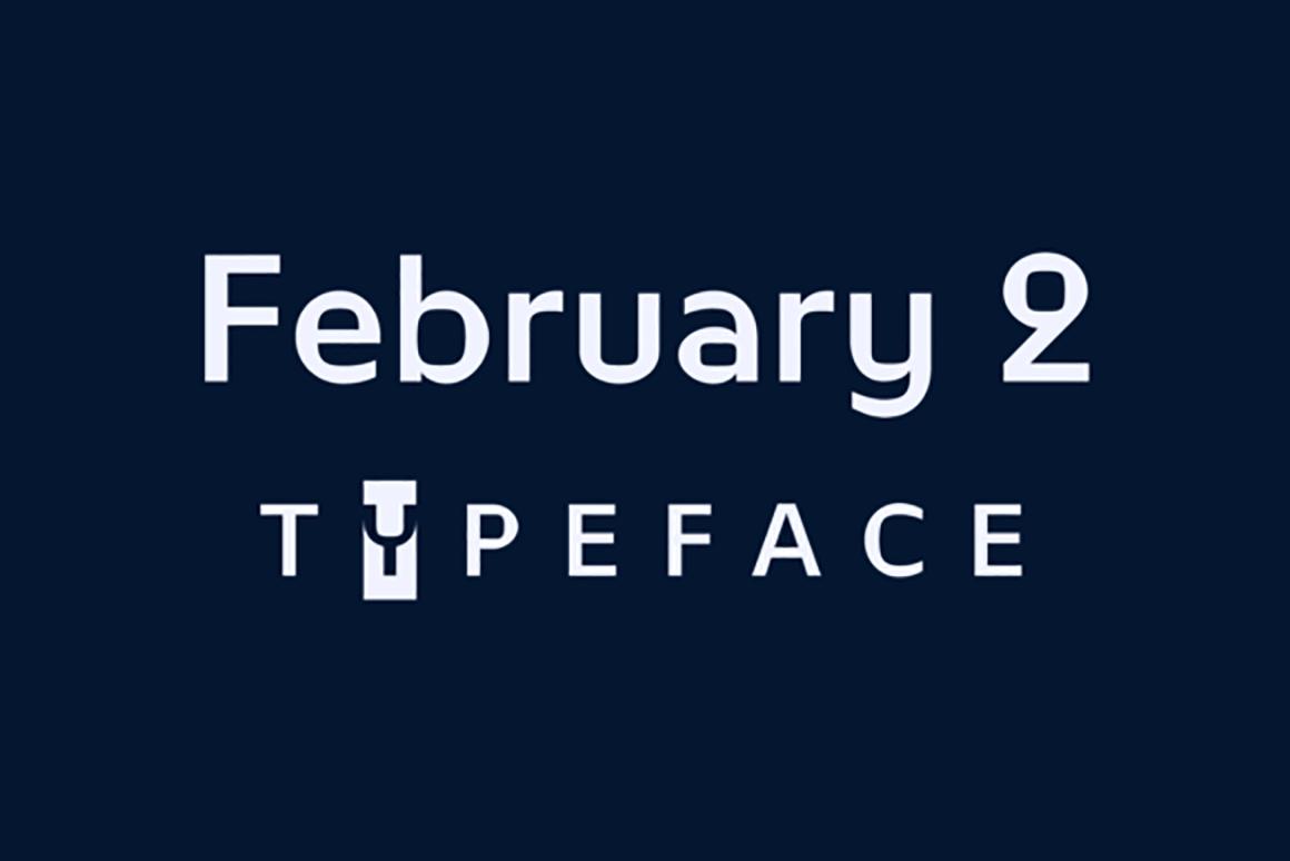 Шрифт February 2