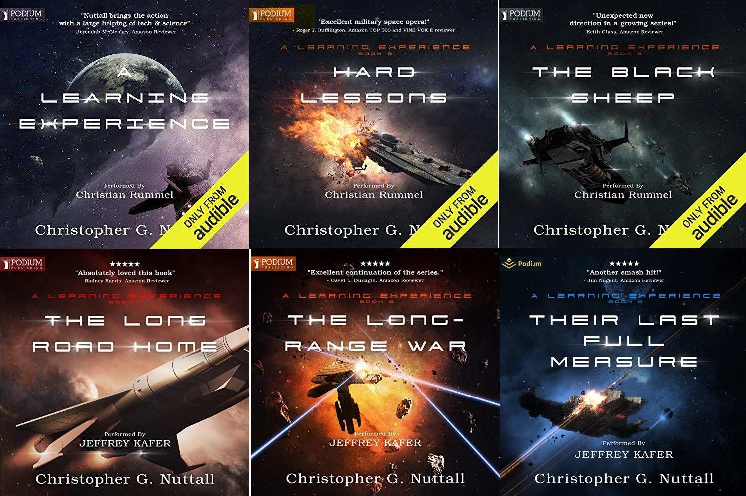 A Learning Experience Series Book 1-6 - Christopher G. Nuttall