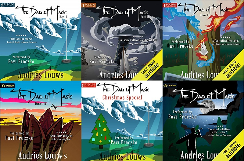 The Dao of Magic Series Books 1-5 - Andries Louws