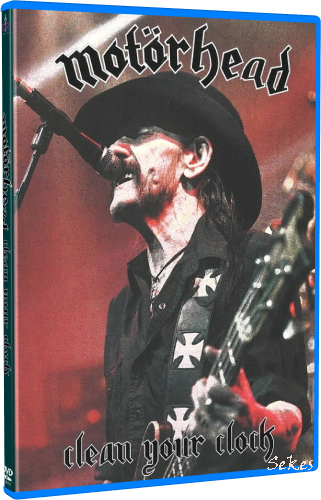 Motörhead - Clean Your Clock (2016, Blu-ray)