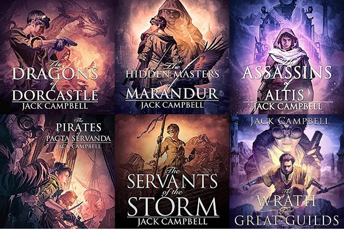 The Pillars of Reality Series Book 1-6 - Jack Campbell