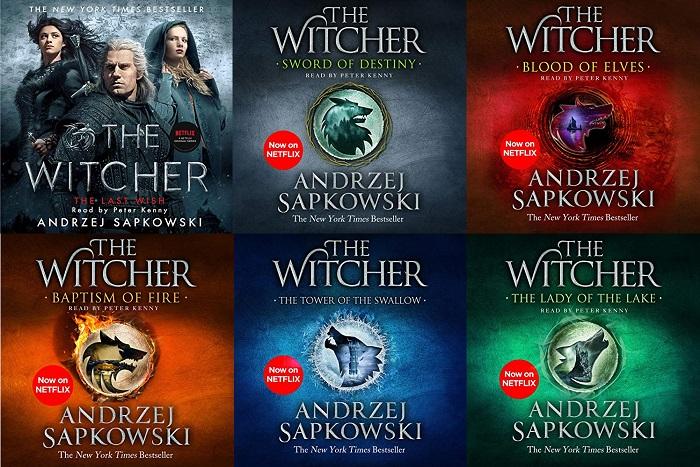 The Witcher Series Book 1-8 - Andrzej Sapkowski
