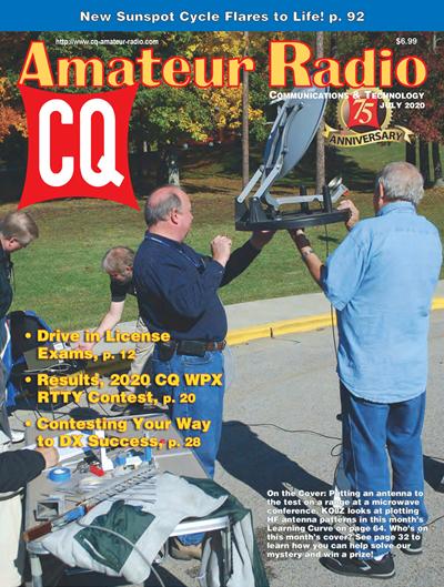 CQ Amateur Radio №7 (July) 2020