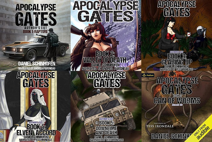 Apocalypse Gates Author's Cut Series Book 1-6 - Daniel Schinhofen