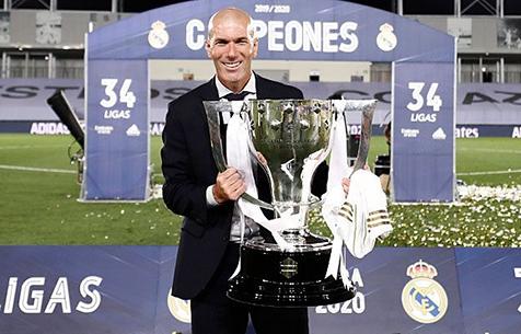 """Зидан: """"Победа в Ла Лиге делает меня счастливее, чем победа в Лиге Чемпионов"""""""