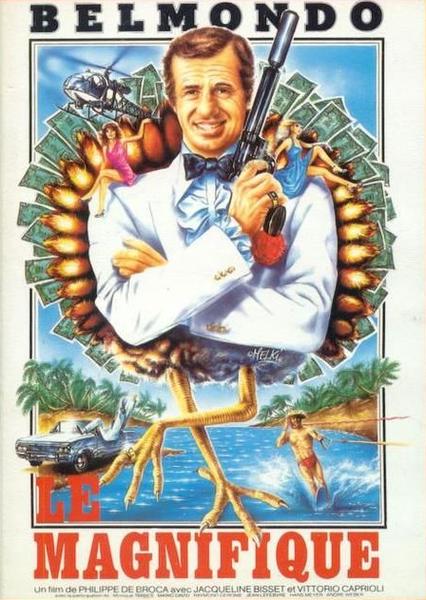Великолепный / Le magnifique / The Man from Acapulco (Филипп де Брока / Philippe de Broca) [1973, Франция, Италия, боевик, мелодрама, комедия, BDRip] VO + Original Fra