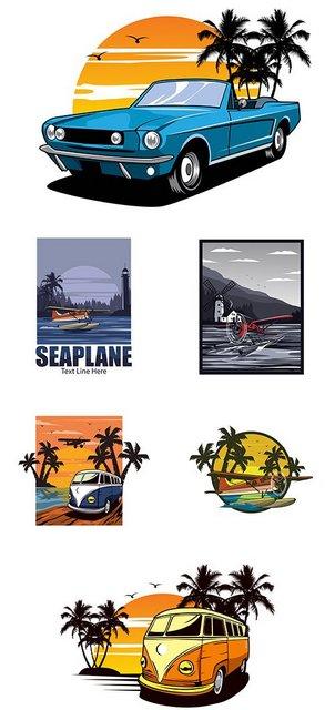 Векторный клипарт - Brand name company logos business corporate design 30 [EPS]