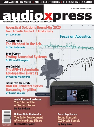 AudioXpress №8 (August) 2020