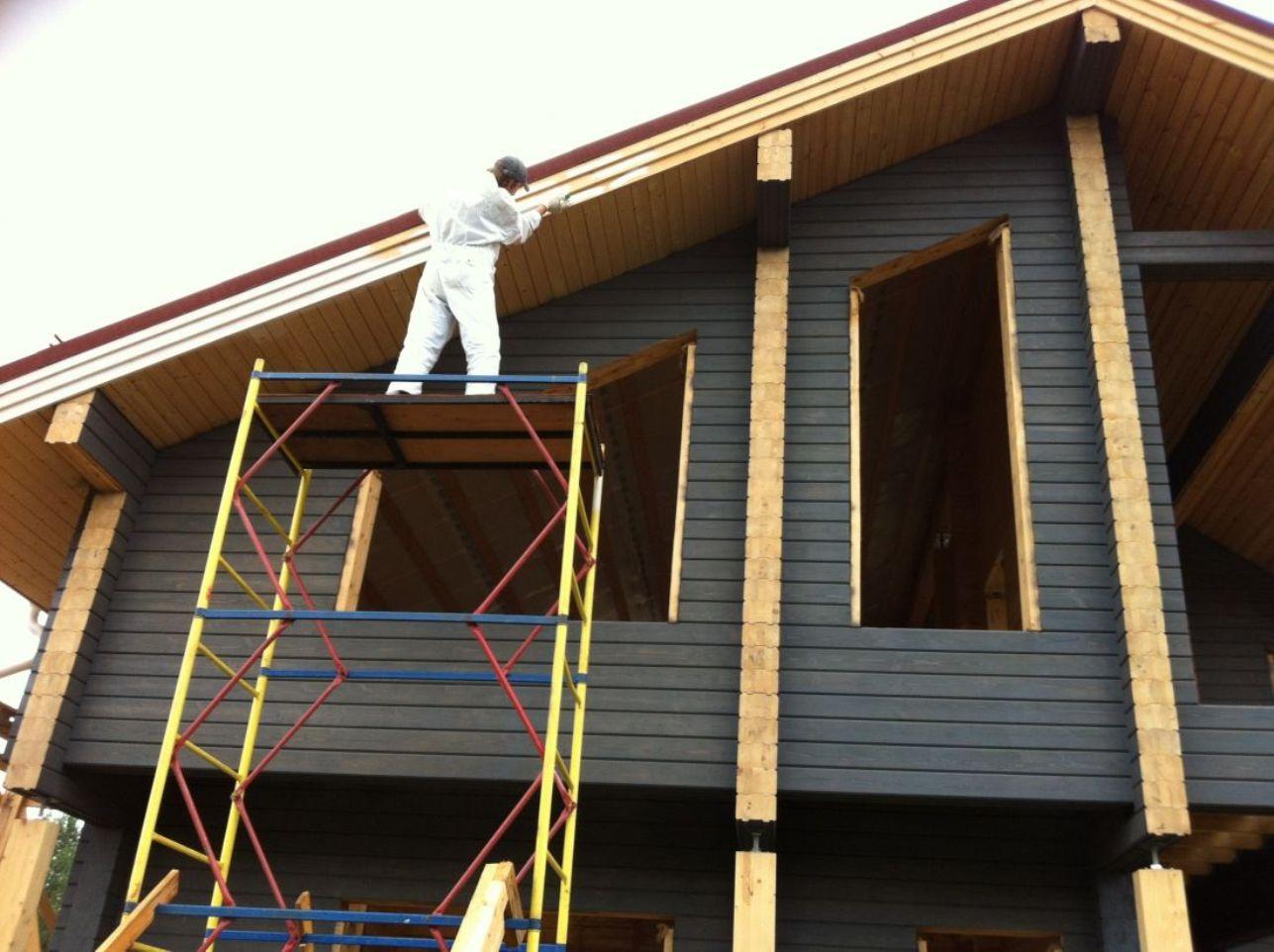 Профессиональная отделка бревенчатых домов