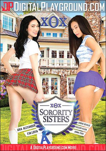 Постер:Digital Playground - Однокурсницы / Сестры из женского общества / Sorority Sisters (2016) WEB-DL
