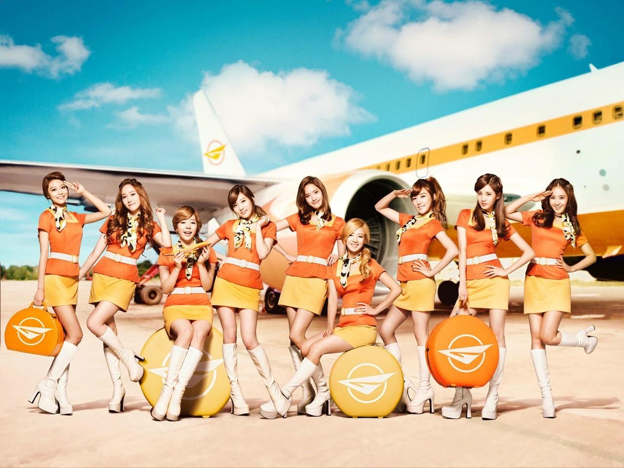 Girls' Generation, Girls & Peace, stewardesses [PH201027083343]