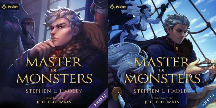 Master of Monsters Series Book 1-4 - Stephen L. Hadley