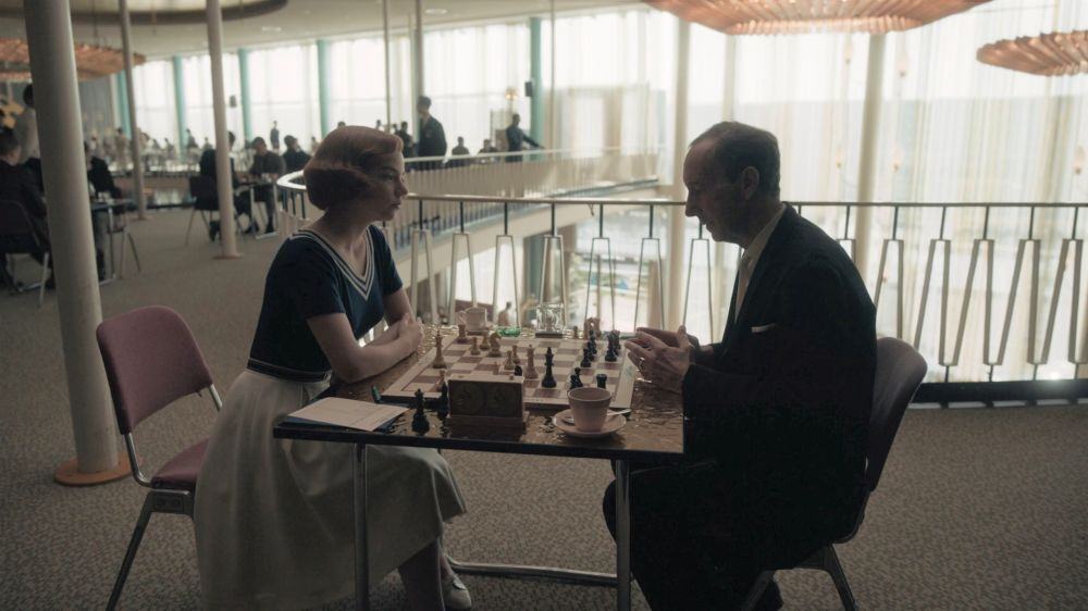 Бет против шахматиста из Оклахомы
