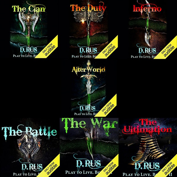 Play to Live Series Books 1-7 - D. Rus