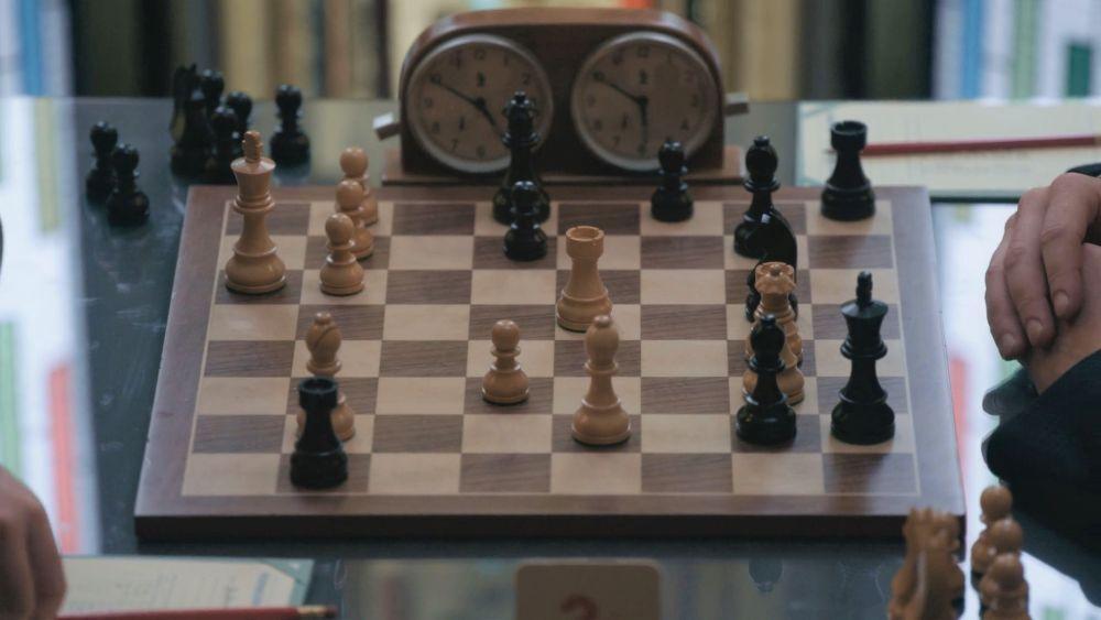 Повторение партии Каспарова против ван Вели