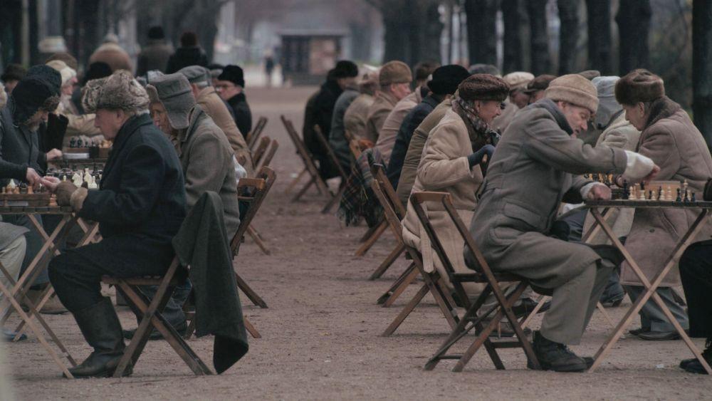 Шахматисты в Москве
