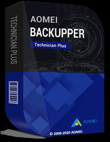 AOMEI Backupper Technician Plus 6.3.0 RePack by elchupacabra [2020,Multi/Ru]