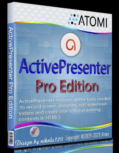 ActivePresenter Pro Edition 8.3.2 RePack (& Portable) by TryRooM [2021, Ru/En]
