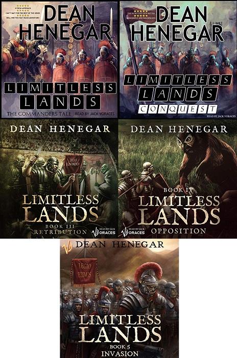 Limitless Lands Series Book 1-5 - Dean Henegar