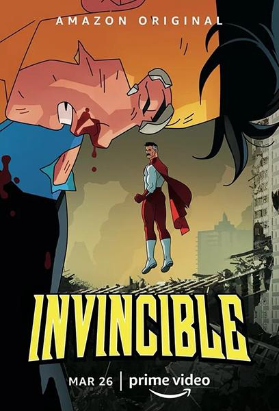 Неуязвимый / Invincible [Сезон: 1, Серии: 1-5 (8)] (2021) WEB-DL 1080p | HDrezka Studio
