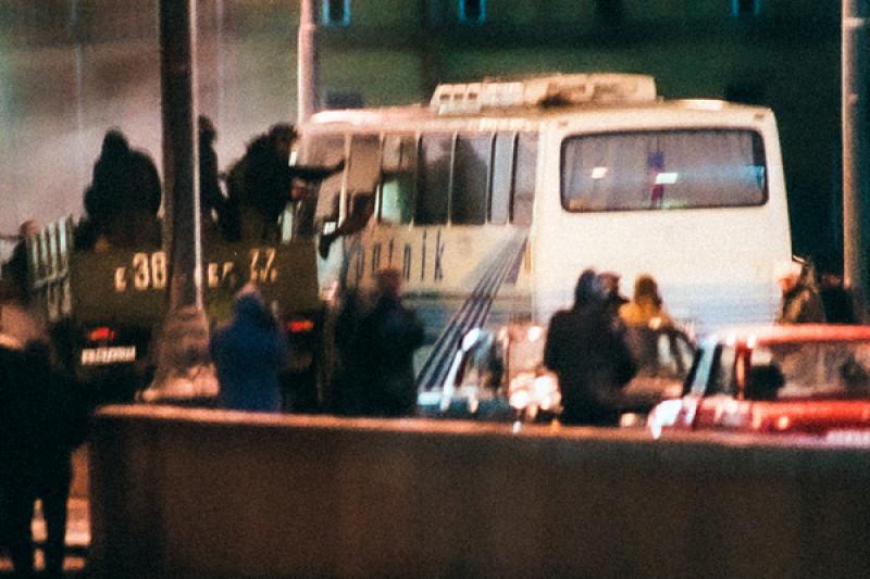 «Альфа» спасает корейцев в центре Москвы