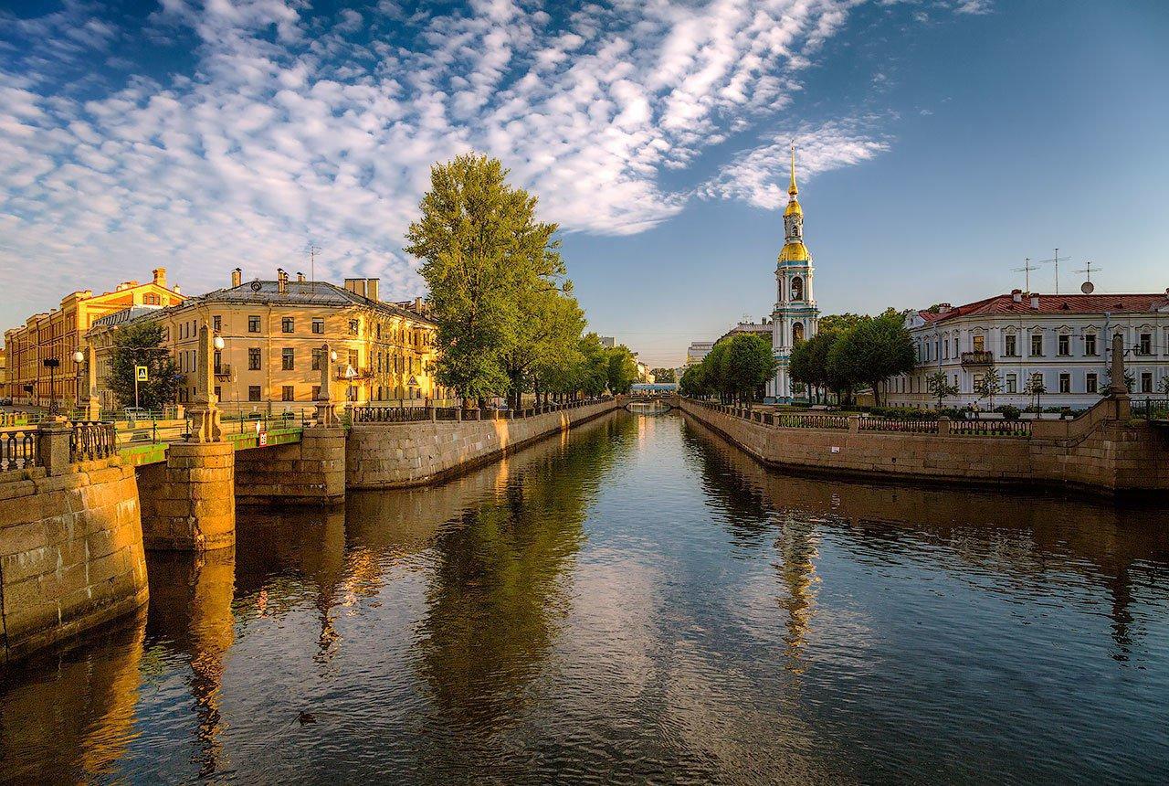 Очарование вечернего Санкт-Петербурга