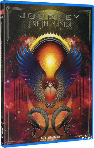 Journey - Live In Manila (2016, Blu-ray)