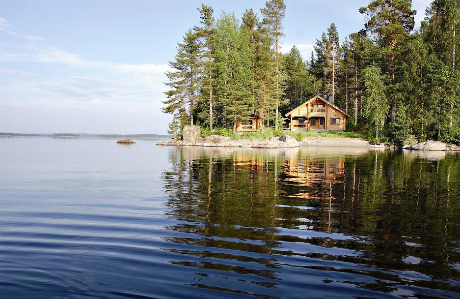 отдых в коттедже в Финляндии летом