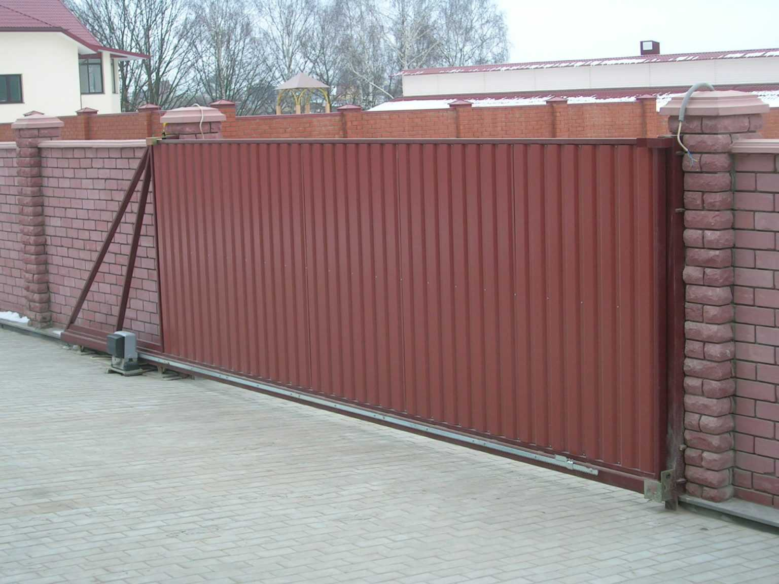 откатные ворота Боровск