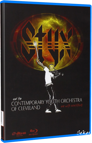 Styx & The Contemporary Youth Orchestra - One With Everything (2009, Blu-ray)