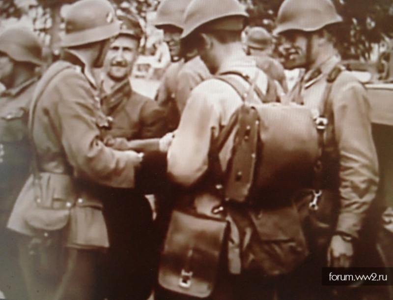 "Ранец ""командирский"" РККА обр 1936 г."