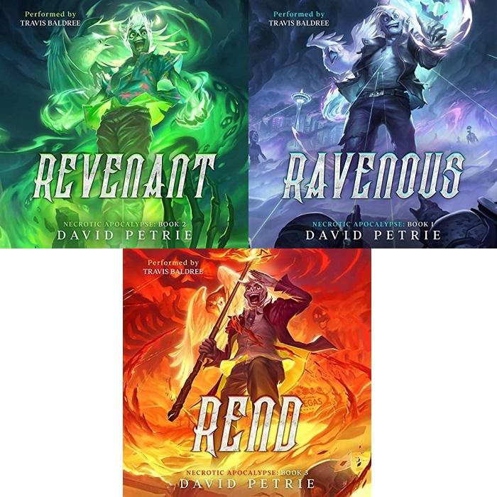 Necrotic Apocalypse Series Book 1-3 - David Petrie