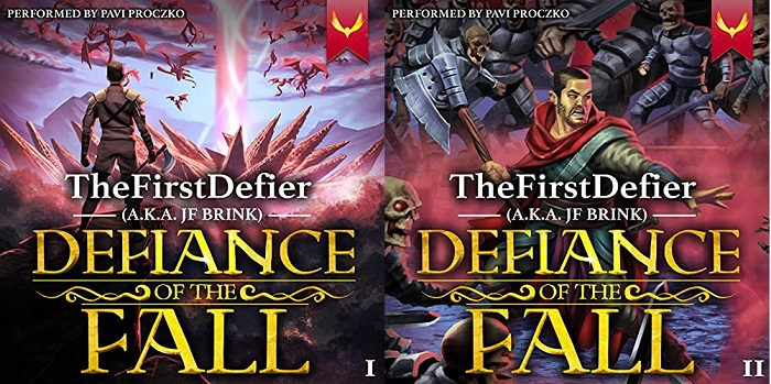 Defiance of the Fall Series Book 1-2 - TheFirstDefier, JF Brink