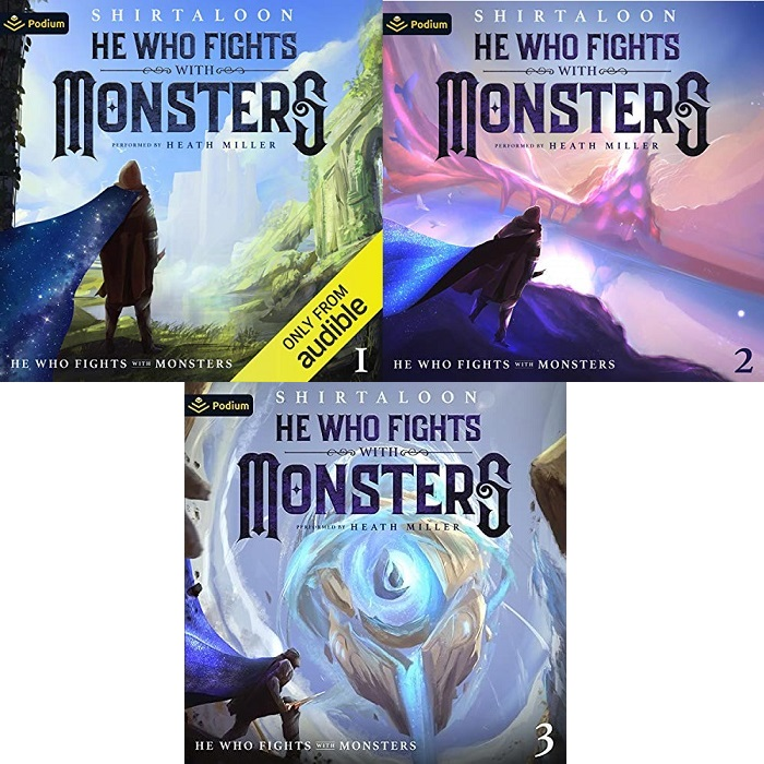 He Who Fights with Monsters Series Book 1-3 - Shirtaloon