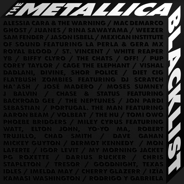 Metallica & VA - The Metallica Blacklist [4CD] (2021) MP3