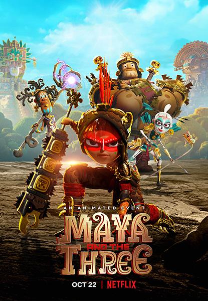 Майя и три воина / Maya and the Three [S01] (2021) WEB-DL 1080p | Netflix
