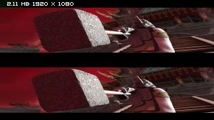 Кунг-фу Панда 2 в 3Д / Kung Fu Panda 2 3D Вертикальная анаморфная