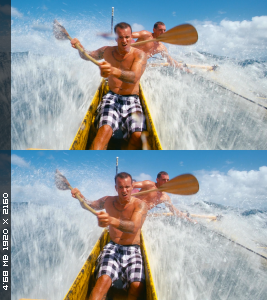 Серфинг на Таити в 3Д / The Ultimate Wave: Tahiti - IMAX 3D Вертикальная
