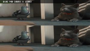 Кошки против собак: Месть Китти Галор (2010) BDRip 1080p   3D (HOU)