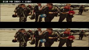 Лучший стрелок 3D / Top Gun 3D Вертикальная анаморфная