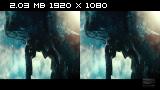 Параллельные миры в 3Д / Upside Down 3D  Горизонтальная анаморфная
