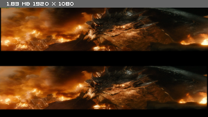 ������: ����� ���� ������� / The Hobbit: The Battle of the Five Armies (2014) BDRip 1080p | 3D-Video | halfOU | ��������