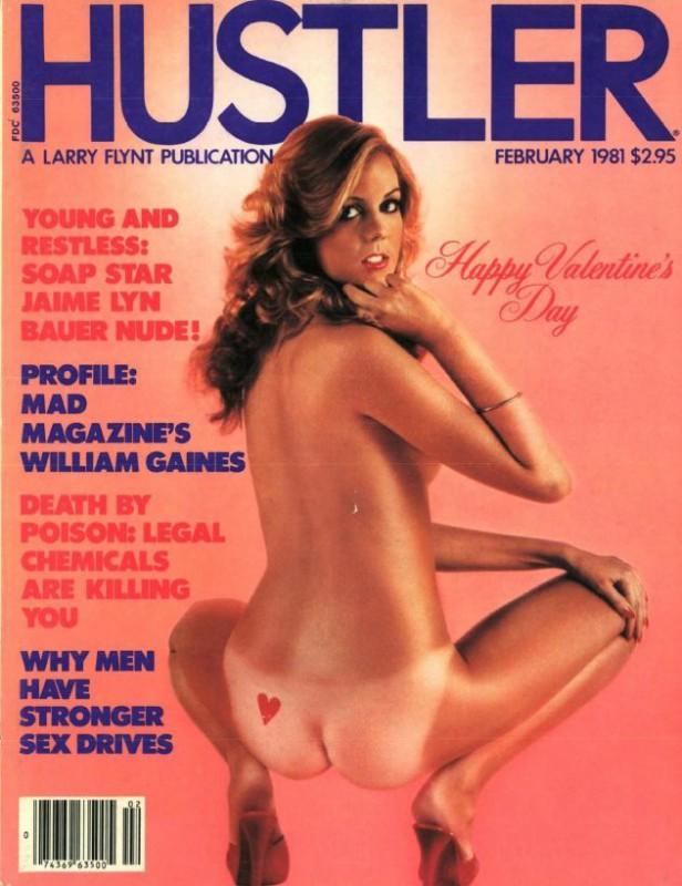 Hustler magazine models tied
