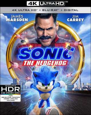 Соник в кино / Sonic the Hedgehog (2020) UHD Blu-Ray EUR 2160p | 4K | HDR | Dolby Vision | Лицензия